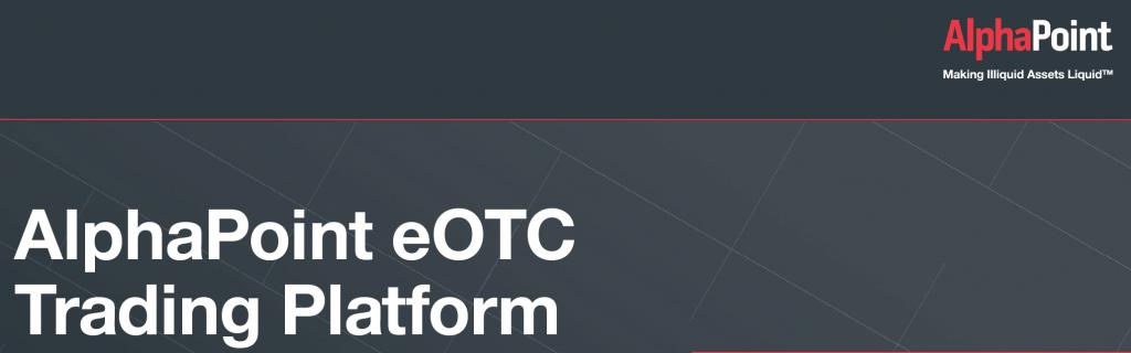eOTC Factsheet - AlphaPoint