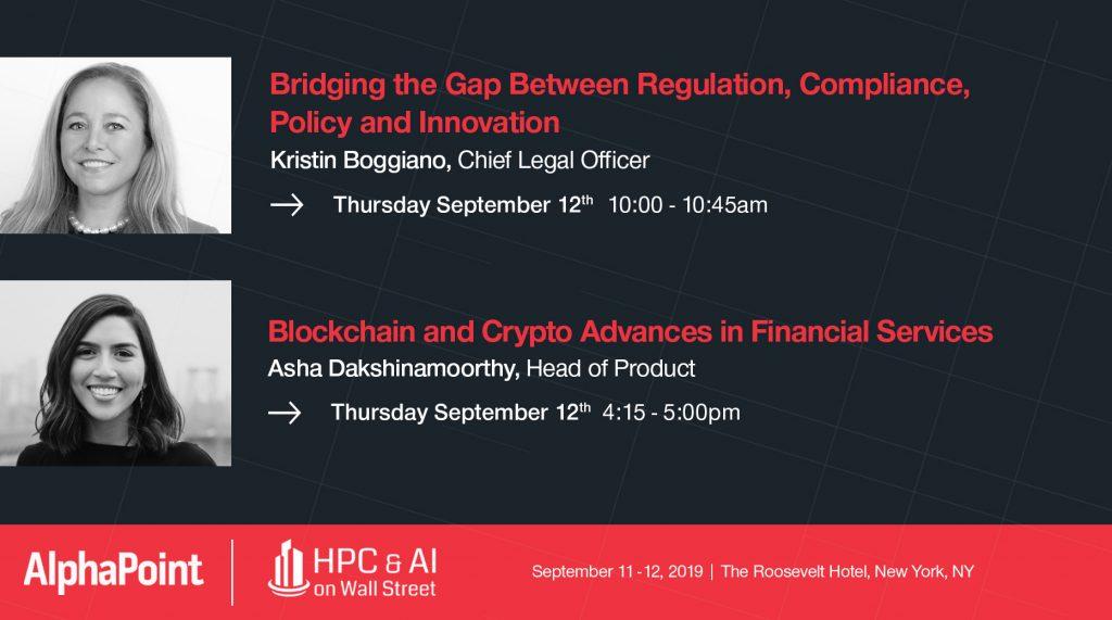 HPC & AI on Wall Street - AlphaPoint