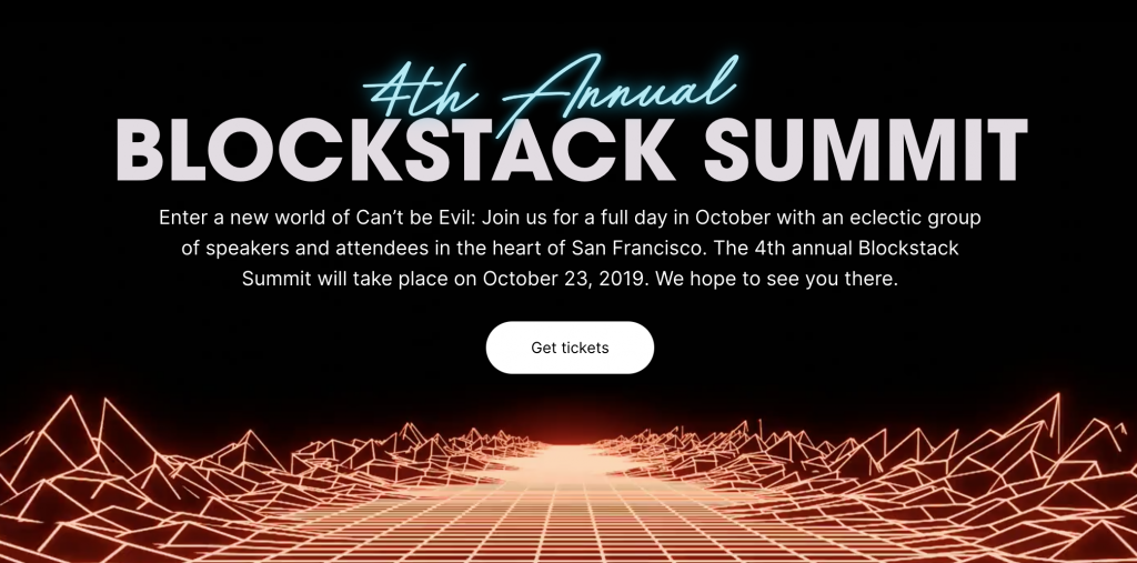 Blockstack Summit - AlphaPoint