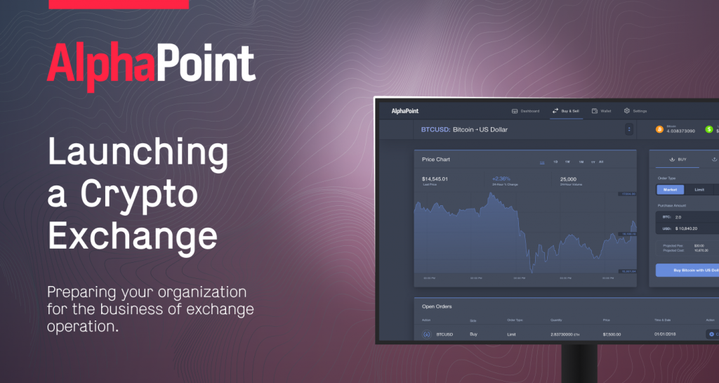 How to launch a crypto exchange with AlphaPoint