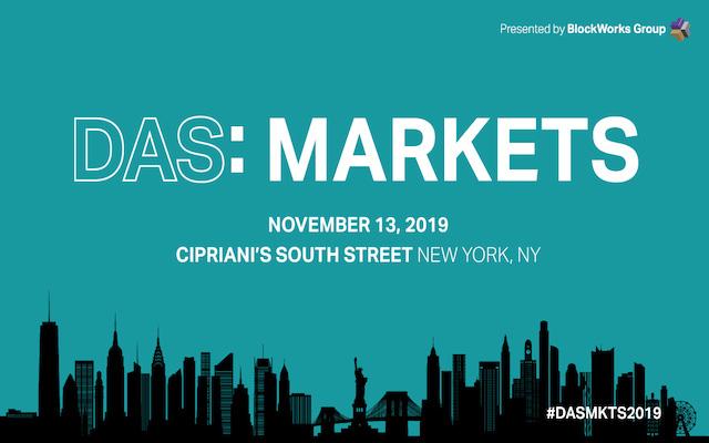 DAS: Markets 2019 - AlphaPoint