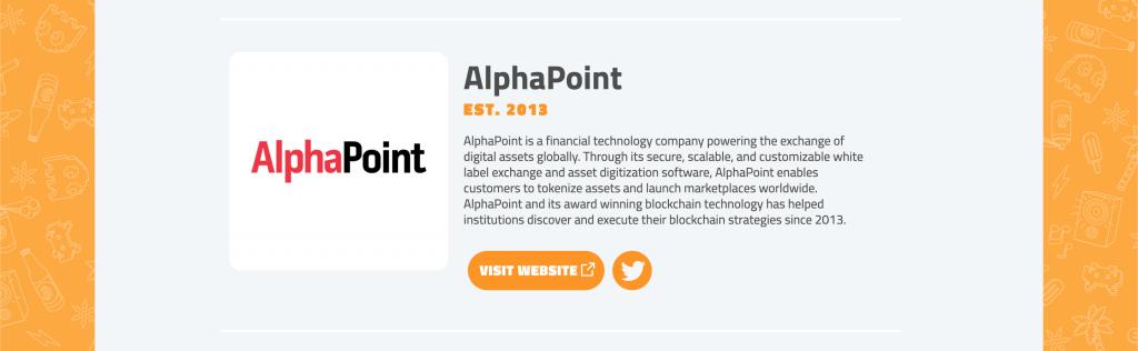 Bitcoin 2020 - AlphaPoint
