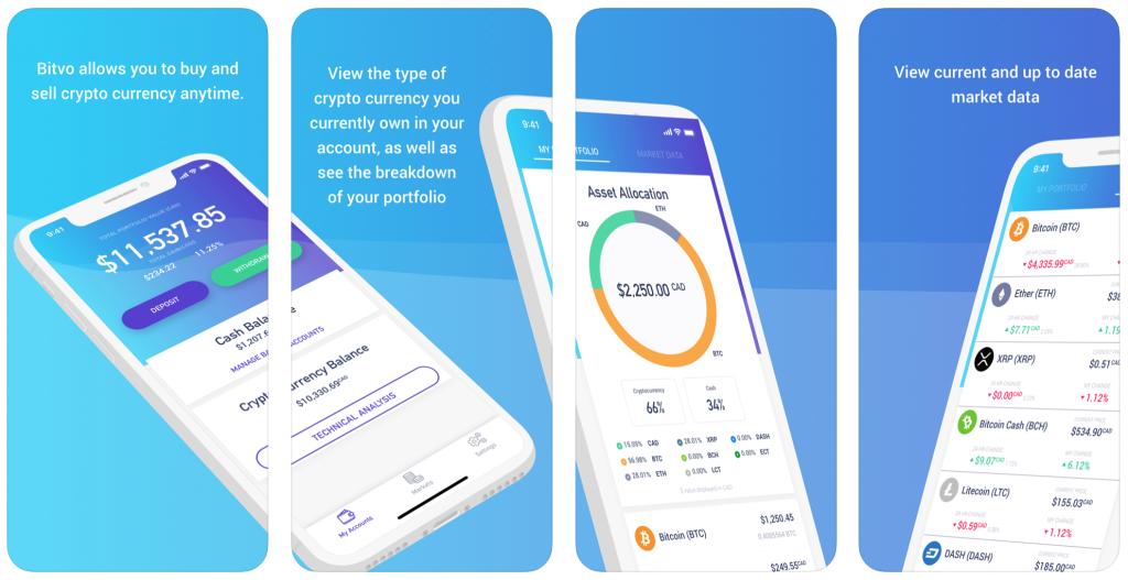 Bitvo Mobile App