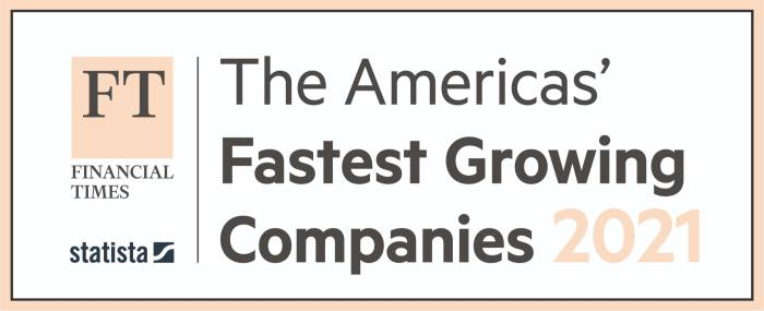 AlphaPoint - Financial Times - Americas Fastest Growing Companies 2021